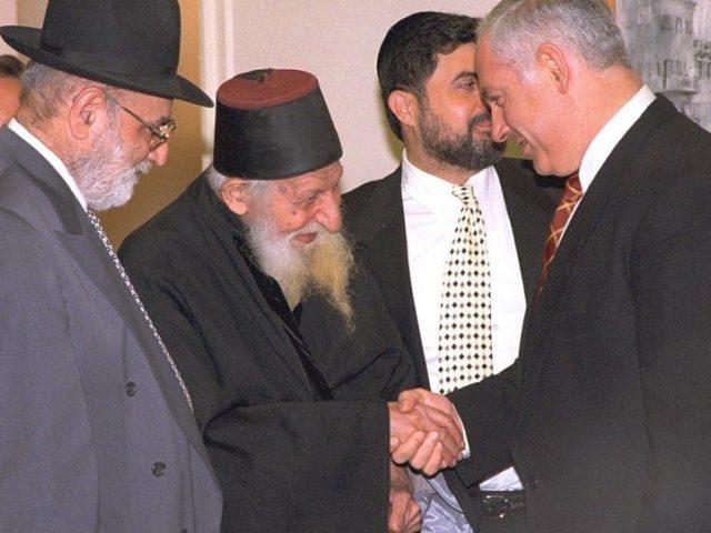Kabbalist Mystic Rabbi Predicted Bibi-Gantz Showdown Would End in Politicians 'Fighting in Heaven'