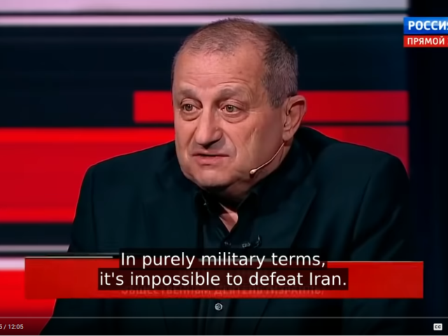 Top Israeli Expert: US Can't Defeat Iran in a Conventional War; Absolutely Ridiculous!