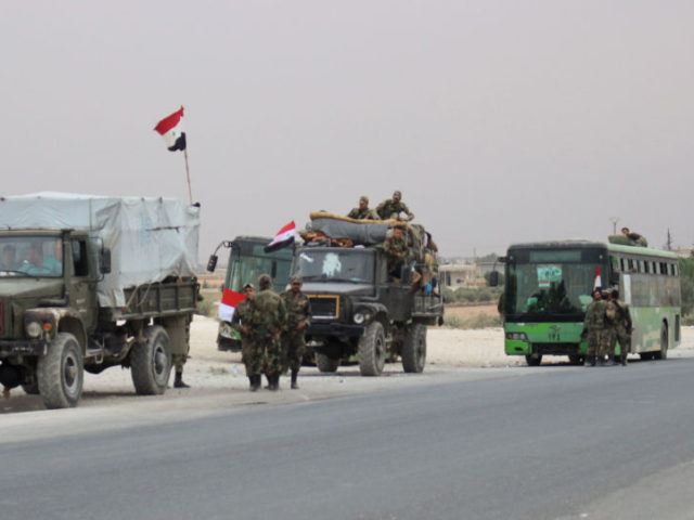 Syrian Army Enters Key Northern Town Gov't Troops Haven't Set Foot in Since 2012
