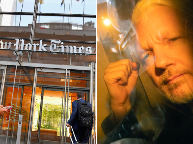 NYT publisher declares Trump a threat to journalism; forgets to mention Obama's war on whistleblowers and Julian Assange