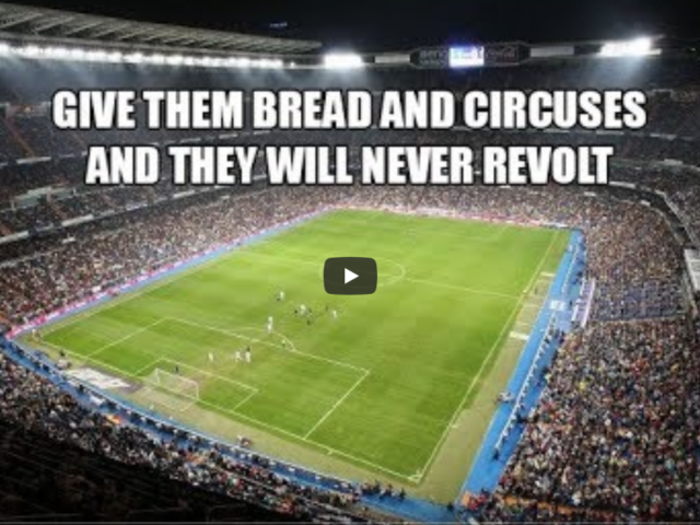 Sports: The Modern Day Bread & Circus