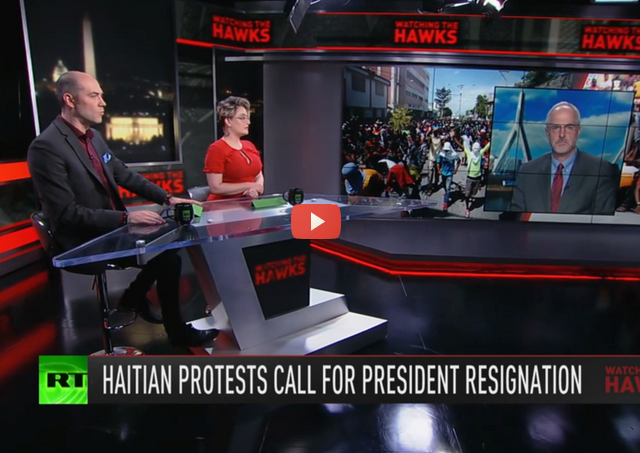 Twitter's British military ties exposed & Haitian protesters challenge US-backed president