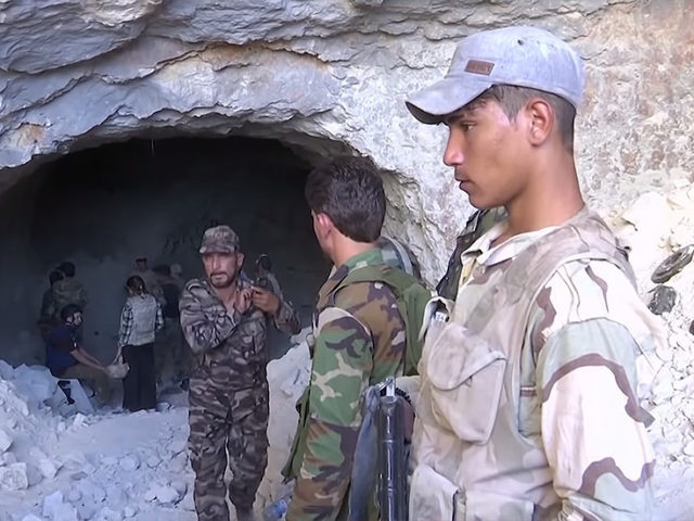 RT tours fortified caves in Syria where terrorists planned assaults, made drones & filmed fake chemical attack videos