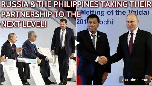 """Duterte in Russia: Liberal """"Pax Americana"""" Order Is Ending, We Want Partnership With Russians!"""