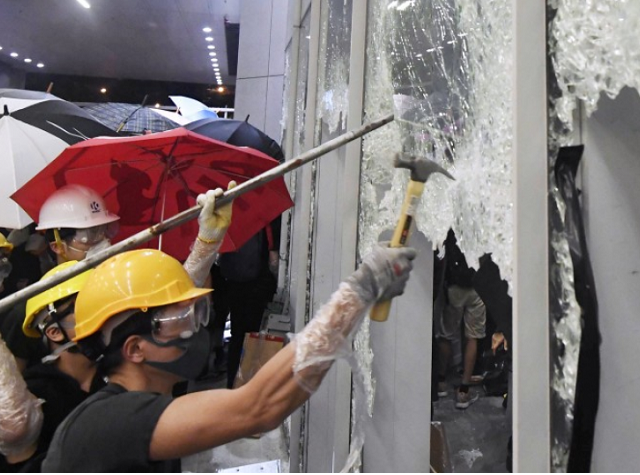 Hong Kong Protests: Fading Foreign Tantrum, Not Genuine Revolution