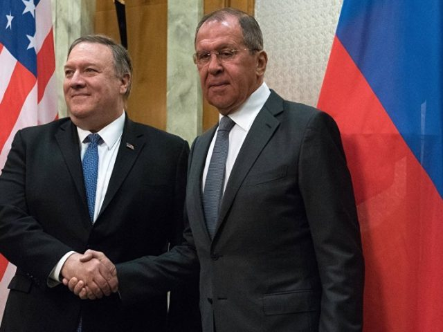 Pompeo Accuses Russia, Iran of 'Fueling' Violence in Syria
