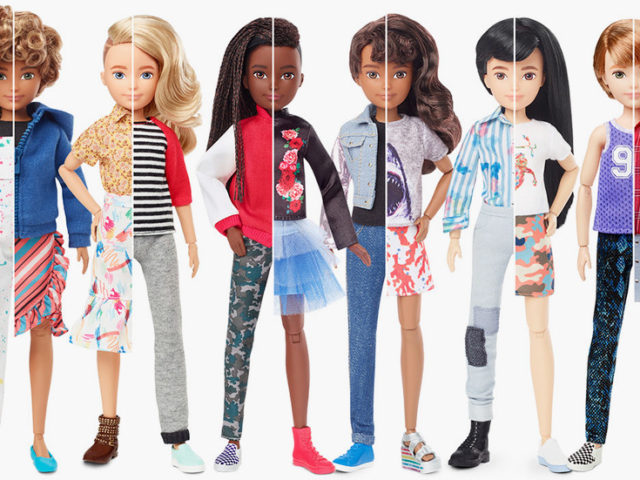 Toy maker behind Barbie releases gender-neutral dolls