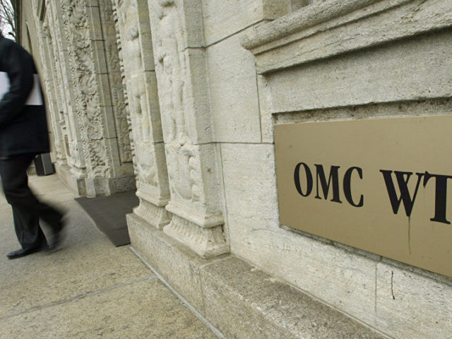 WTO Allows China to Impose Retaliatory Measures Worth $3.6 Bln Against US