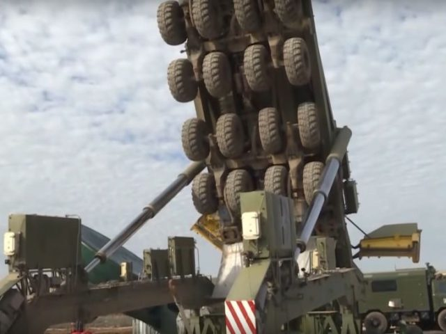 Steady Now! Watch Russia's Strategic Forces Slowly Lower 50 Tonne Yars Missile Into Silo