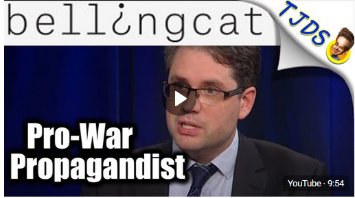 """Pro-War """"Bellingcat"""" Smears Anti-War Journalists"""