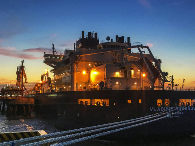 Russia dominating the US in the battle for European LNG market