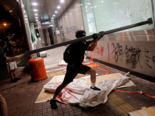 Hong Kong economy will inevitably shrink further as protests show no sign of abating