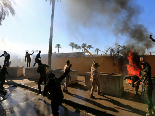 Protesters break into US embassy compound in Baghdad after American airstrikes in Iraq – AP