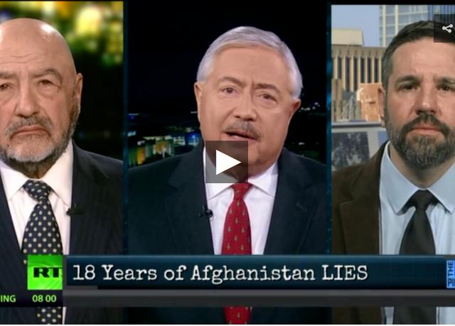 Debunking Afghanistan war & spotlighting Iran, North Korea, China