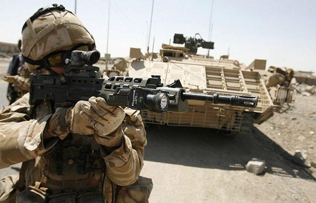 "British ""Liberators"" are in Fact War Criminals"