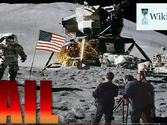 """WikiLeaks has released secret """"moon landing"""" footage taken in Nevada"""