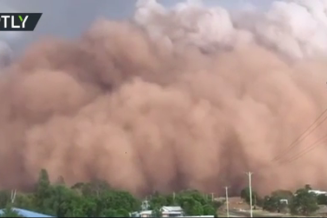 WATCH Monstrous dust storms blocking out the Sun as Australia's weather woes continue