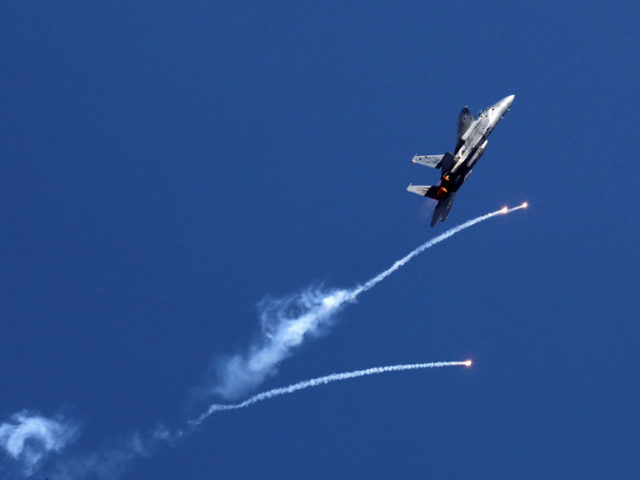 Israeli air force strikes multiple targets in Gaza in response to 'explosive balloons'