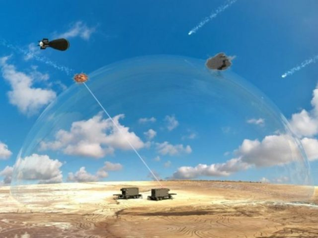 Israel will shoot down rockets with space-age 'LASER SWORD'