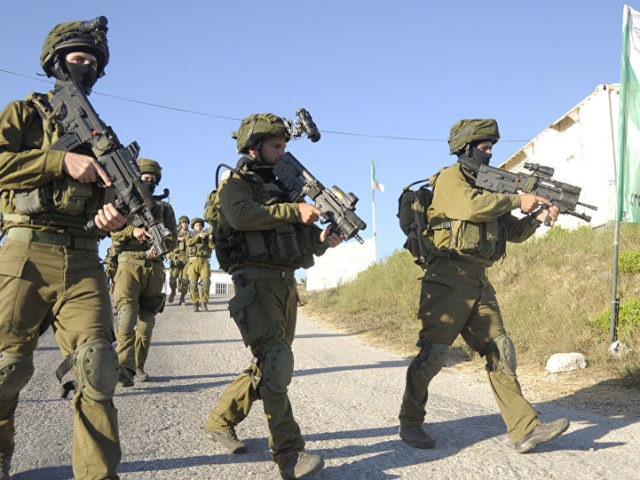 Israeli Troops Open Fire on Three Suspects Trying to Cross Border Fence – IDF Statement