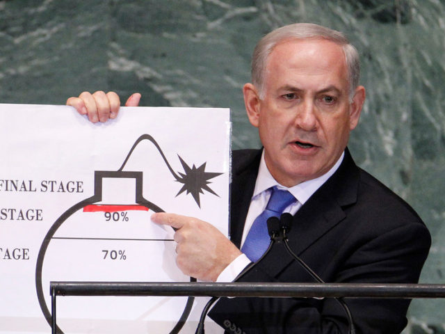 Bibi gets Freudian by calling Israel 'nuclear power' during cabinet meeting