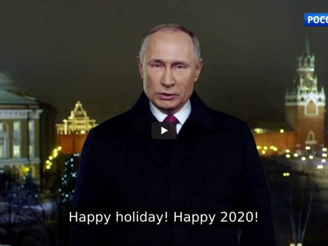 Putin's Most Important Address: Millions Tune In For President's New Years Speech!