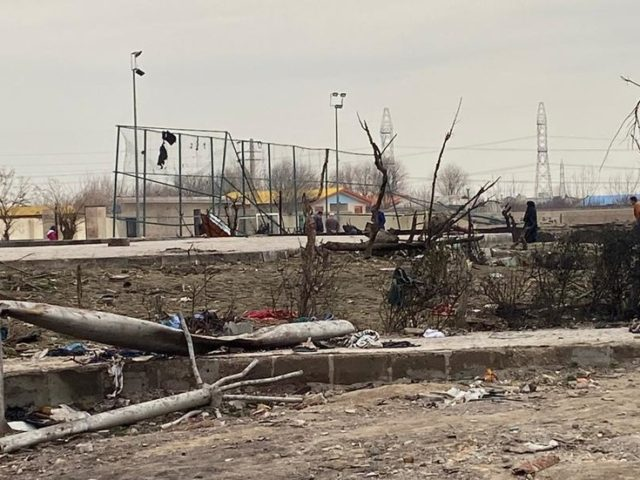 Rare FOOTAGE shows Ukrainian Boeing crash site in Tehran after 'site bulldozed' claims (PHOTOS)