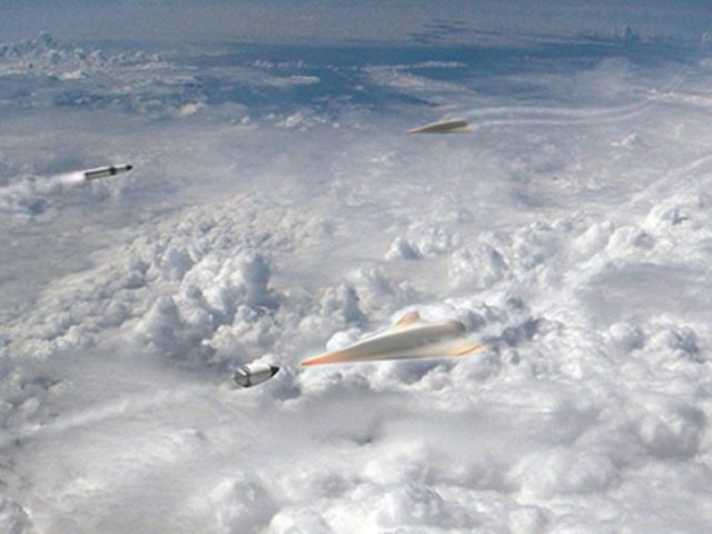 Playing Defensive? Pentagon Splashes $13 Million to Intercept Russian, Chinese Hypersonic Weapons