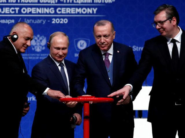 Full stream ahead: Russia & Turkey launch TurkStream gas pipeline