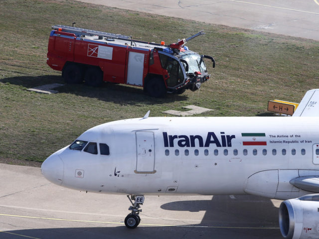 Airbus with 110 on board skids off runway in western Iran amid heavy snowfall (VIDEO)