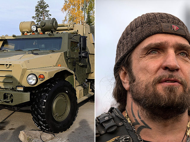 'Tigers' and 'wolves' duke it out in court: Russian armored car maker sues biker association leader over trademark