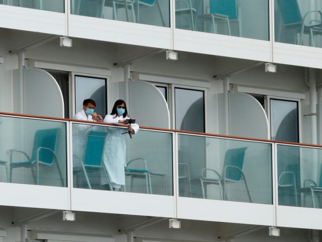 All 3,600 on board allowed to leave cruise ship quarantined in Hong Kong after crew test negative for coronavirus