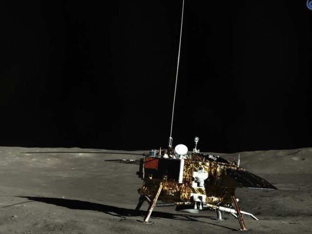 Up and at'em! China's Chang'e-4 probe resumes work on FAR SIDE of the Moon