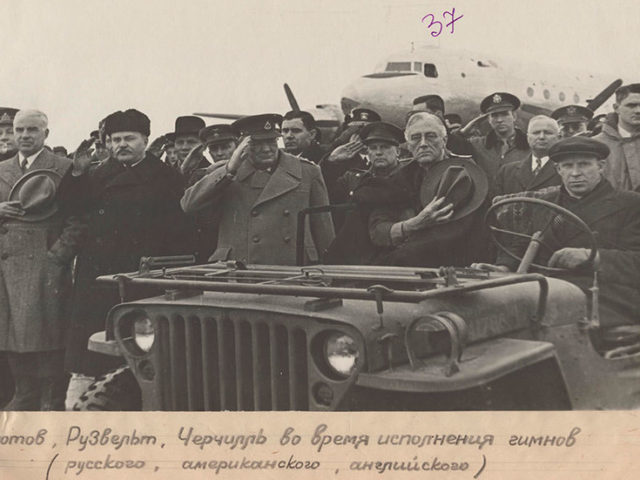 Churchill sightseeing in Crimea and FDR saluting the flag: Russia declassifies PHOTOS taken ahead of 1945 Yalta conference