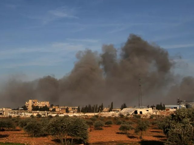 Watch Syrian Army Repel Militant Attack in Idlib