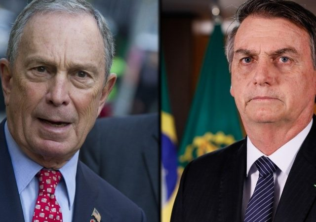 Bloomberg surrogate was PR guru for Brazil's extreme-right leader Bolsonaro