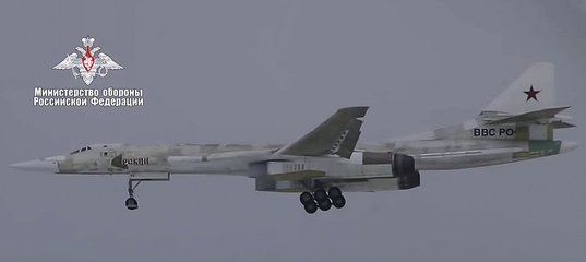 Russia's modernized Tu-160M nuclear-capable bomber takes to the skies for the 1st time (VIDEO)