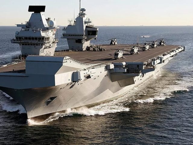 Ex-British Admiral Claims 'Americans Very Jealous of Amazing' UK Aircraft Carriers