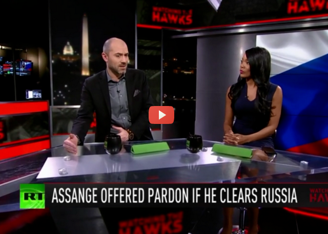 Assange allegedly offered pardon in exchange for clearing Russia