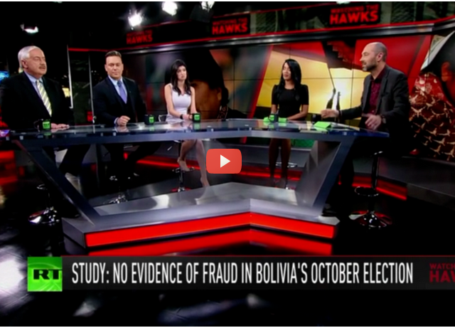 No fraud in Bolivia's elections