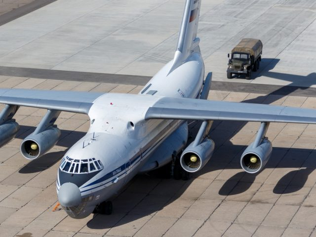 Russian Covid-19 aid plane to US: Putin asked Trump if he needed help & he accepted, Kremlin spokesman says