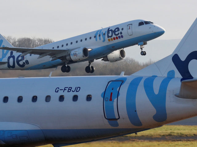 UK airline Flybe succumbs to coronavirus outbreak taking toll on air travel worldwide