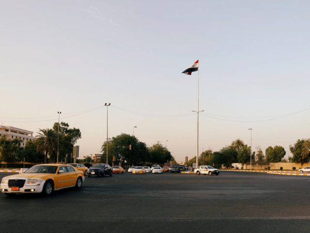 Blasts rock Baghdad's Green Zone, reports say missiles struck in vicinity of US embassy