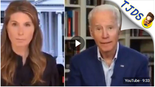 Biden's Most Awkward Interview Yet Is A Cringe Festival