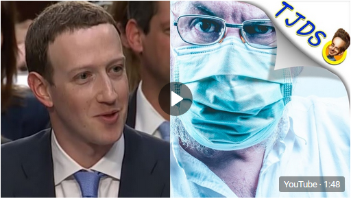 Facebook Donates 720,000 Masks To Hospitals. WTF?!?