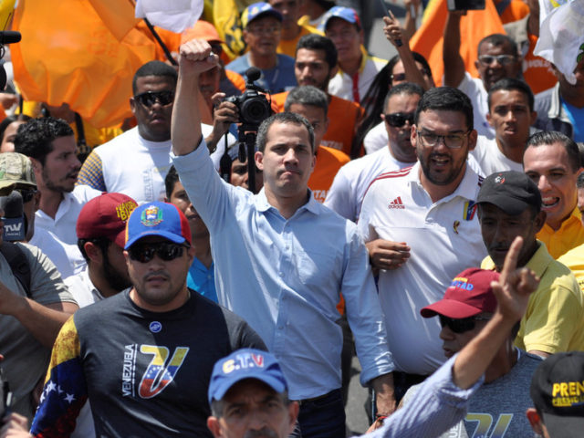 Guaido says Venezuelan government tried to ASSASSINATE him after gunman spotted at opposition rally