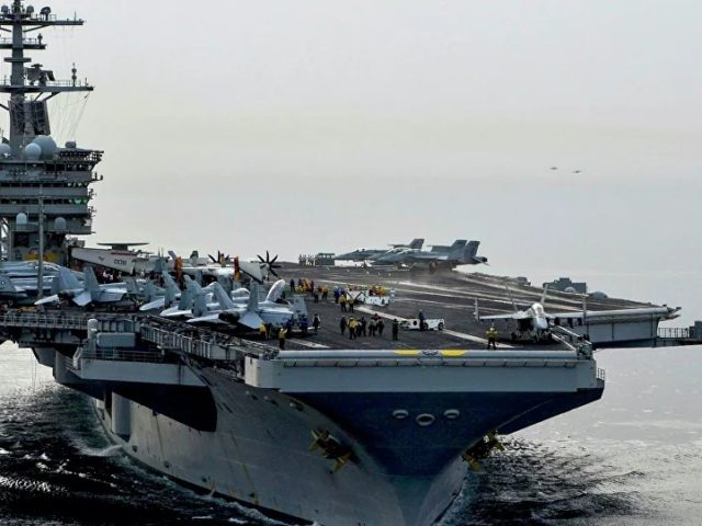 Navy: Three US Sailors on Aircraft Carrier Roosevelt Test Positive for COVID-19