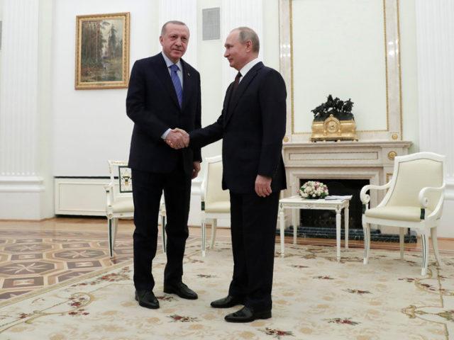 Turkish-Russian ties in defense & trade at highest level, Erdogan says as he meets Putin