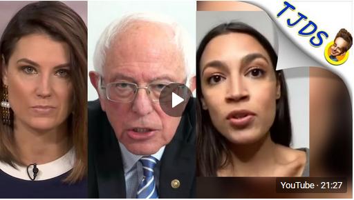 Progressive Media Starts Criticizing AOC & Bernie