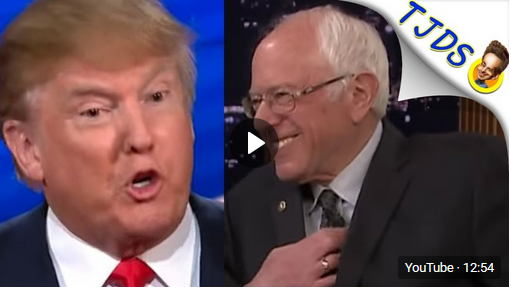 Trump Shows Bernie How To Win Pres. Election